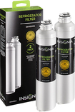 Insignia™ - Water Filters for Select Samsung Refrigerators (2-Pack)