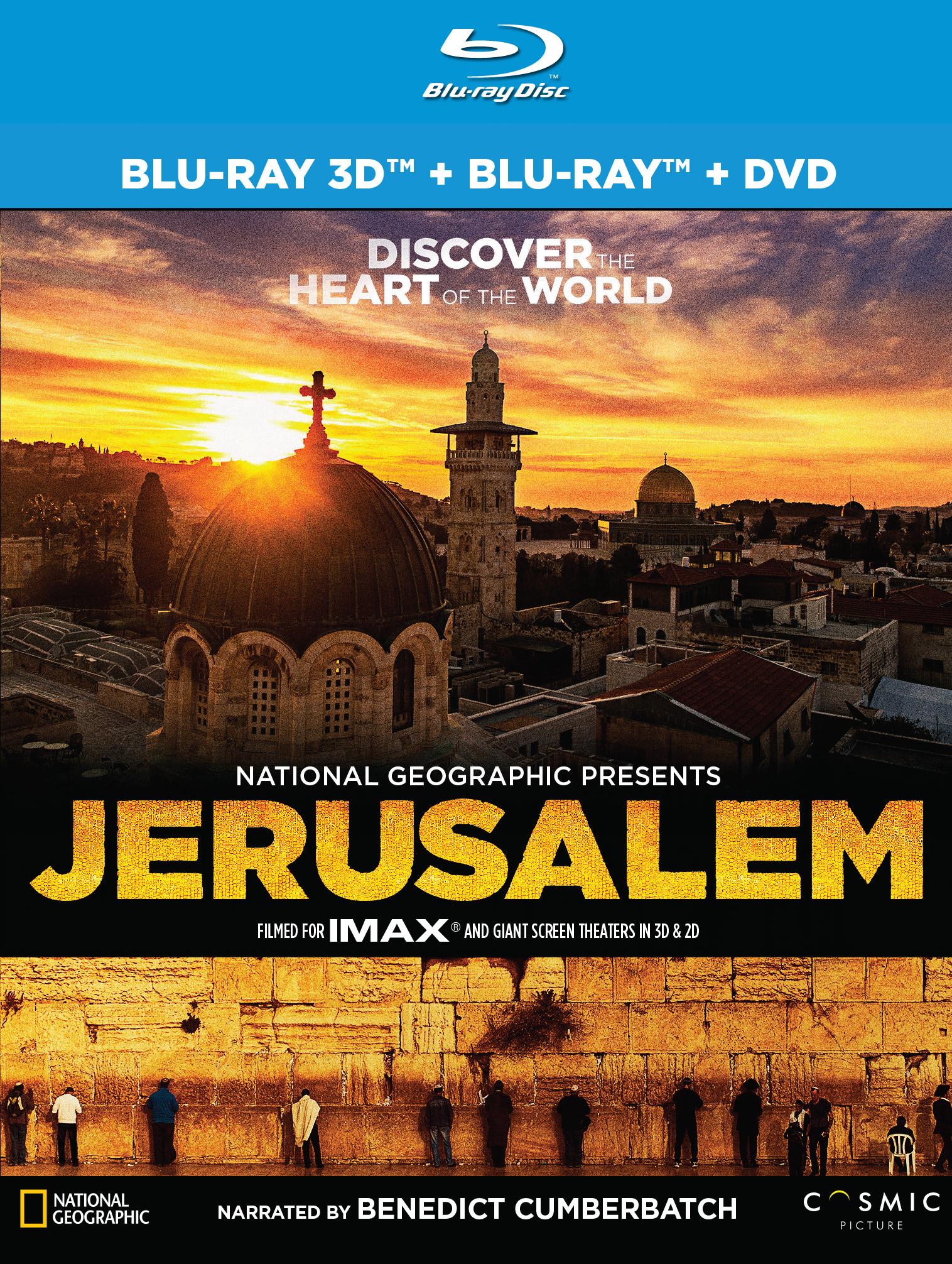 Jerusalem [3d] [blu-ray/dvd] 4575664