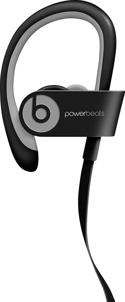 Beats By Dr. Dre - Geek Squad Certified Refurbished Powerbeats² Wireless Headphones - Black