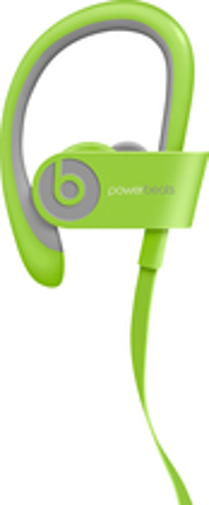 Beats By Dr. Dre - Geek Squad Certified Refurbished Powerbeats² Wireless Headphones - Green