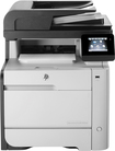 HP - LaserJet Pro MFP m476nw Wireless Color All-In-One Printer - Black/Gray