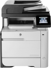 HP - LaserJet Pro MFP m476dw Network-Ready Wireless Color All-In-One Printer - Black/Gray