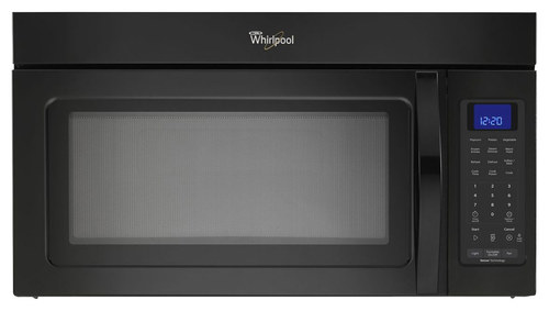 Whirlpool - 1.9 Cu. Ft. Over-the-Range Microwave with Sensor Cooking - Black