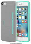 Incipio - Stowaway Advance Wallet Case For Apple Iphone 6 Plus And Iphone 6s Plus - Dark Gray\/teal