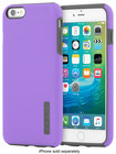 Incipio - Dualpro Case For Apple Iphone 6 Plus And Iphone 6s Plus - Purple\/charcoal