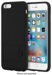 Incipio - Kicksnap Case For Apple Iphone 6 Plus And Iphone 6s Plus - Black\/black