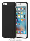 Incipio - Ngp Case For Apple Iphone 6 Plus And Iphone 6s Plus - Solid Black
