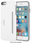 Incipio - Stowaway (advance) Wallet Case For Apple Iphone 6 Plus And Iphone 6s Plus - White\/dark Gray