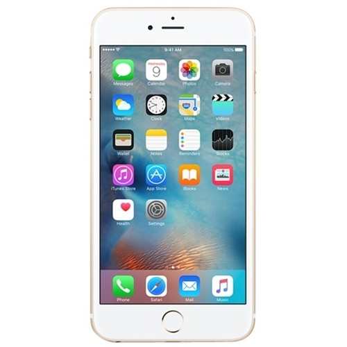 Apple - iPhone 6s Plus 4G with 128GB Memory Cell Phone (Unlocked) - Gold
