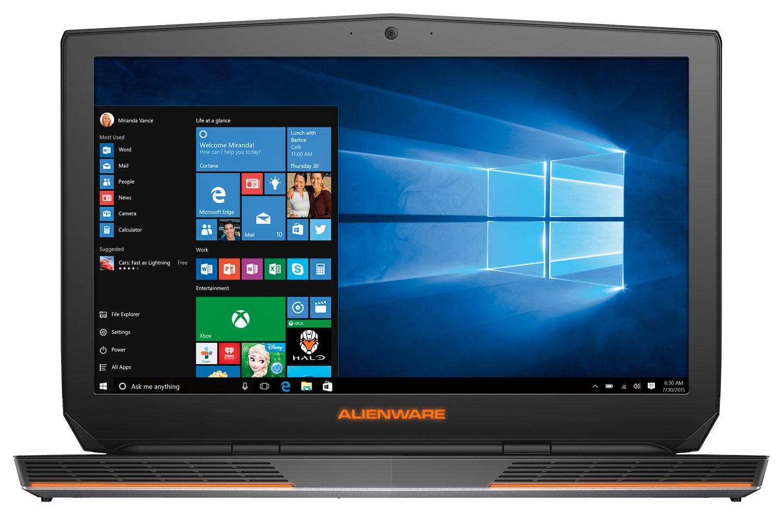 Alienware - R3 17.3 Laptop - Intel Core i7 - 16GB Memory - 1TB Hard Drive + 256GB Solid State Drive - Epic Silver