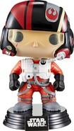 Funko - Star Wars: Episode Vii Poe Dameron Pop! Vinyl Bobble Head Figure - Multi 4595112