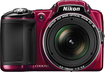 Nikon - Coolpix L830 16.0-Megapixel Digital Camera - Red