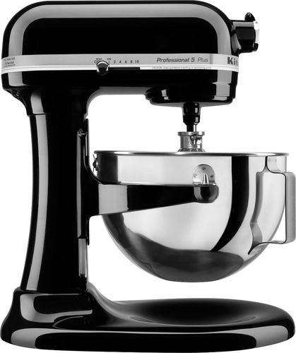 KitchenAid   Professional 5 Plus Series Stand Mixer   Onyx Black   Larger  Front