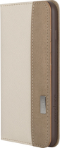 Moshi - Overture Wallet Case for Apple® iPhone® 6 Plus - Sahara Beige