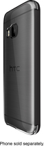HTC - Dot View Ice Case for HTC One (M9) Cell Phones - Onyx Black