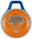 JBL - NBA Special Edition New York Knicks Clip Portable Bluetooth Speaker - Blue/Orange/White