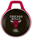 JBL - NBA Special Edition Chicago Bulls Clip Portable Bluetooth Speaker - Red/Black/White