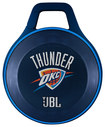 JBL - NBA Special Edition Oklahoma City Thunder Clip Portable Bluetooth Speaker - Blue/White/Orange