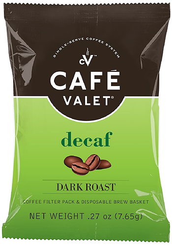 Cafe Valet - Decaf Dark Roast Coffee Packets (84-Pack) - Multi