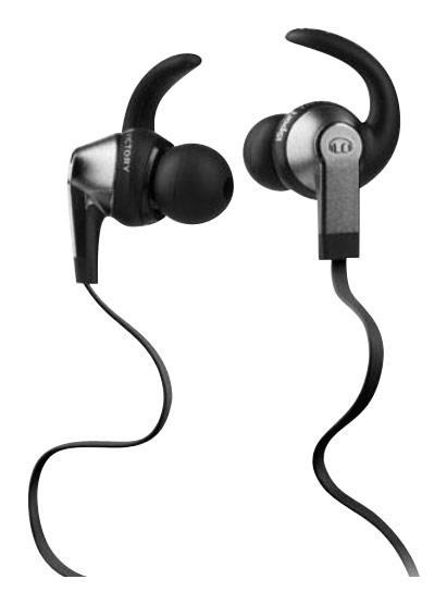 Monster - iSport Victory Earbud Headphones - Black