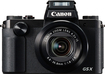 Canon - Powershot G5 X 20.2-megapixel Digital Camera - Black