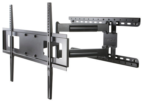 Kanto - Full Motion TV Wall Mount for Most 30 - 60 Flat-Panel TVs - Extends 26 - Black