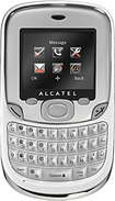 H2O Wireless - Alcatel 356 No-Contract Cell Phone - Carbon/Chrome