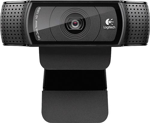 Logitech - C920 Pro Webcam - Black