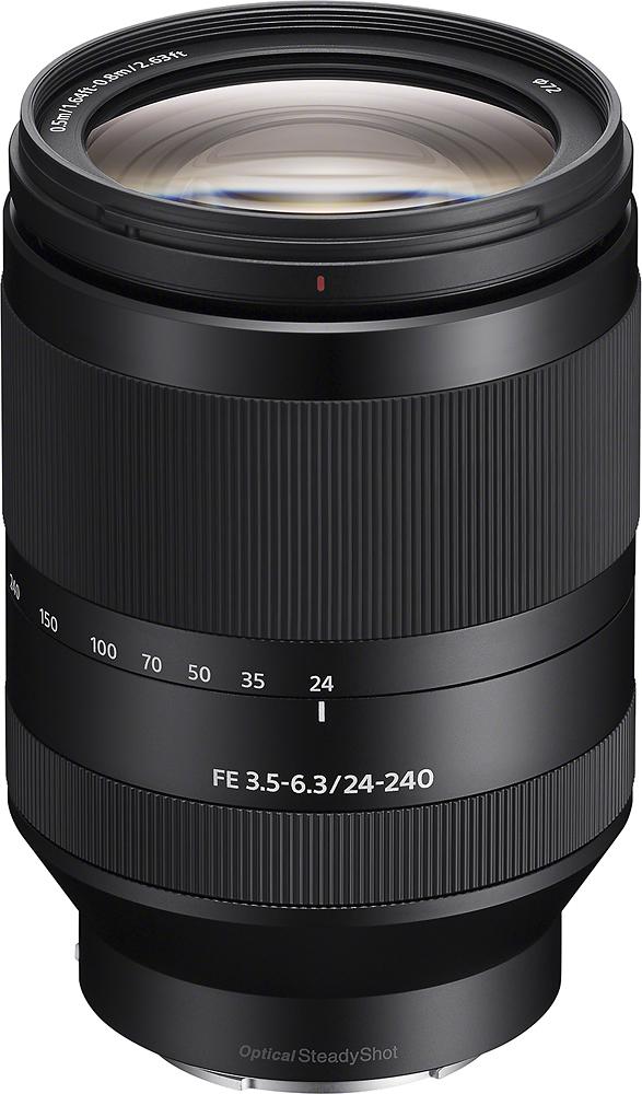 Sony - Fe 24-240mm F/3.5-6.3 Oss Full-frame E-mount Telephot