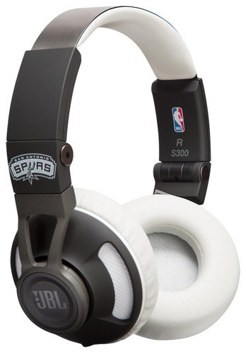 JBL - Synchros S300 San Antonio Spurs On-Ear Headphones - Multi