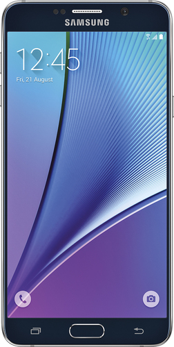 Samsung - Refurbished Galaxy Note5 4G LTE with 32GB Memory Cell Phone - Black Sapphire (Verizon Wireless)