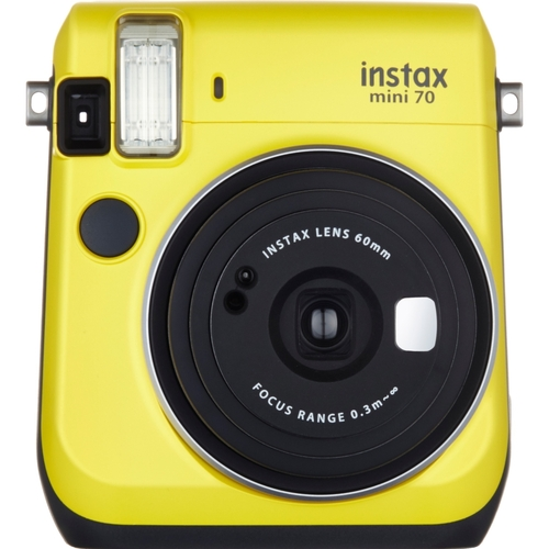 Fujifilm - Instax Mini 70 Instant Film Camera - Yellow