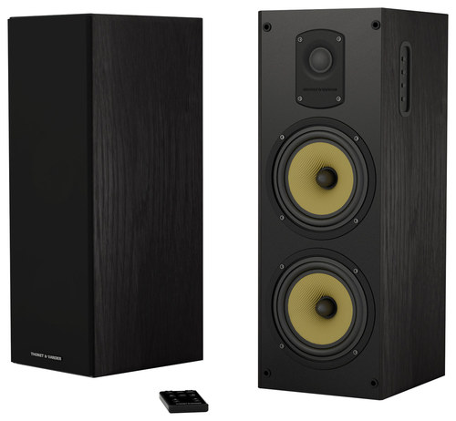 Thonet & Vander - Koloss Dual 6.5 800W 2-Way Bluetooth Speakers (Pair) - Black