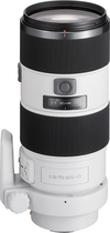 Sony - 70-200mm f/2.8 G SSM II Telephoto Zoom Lens for Select Sony Alpha Cameras - White
