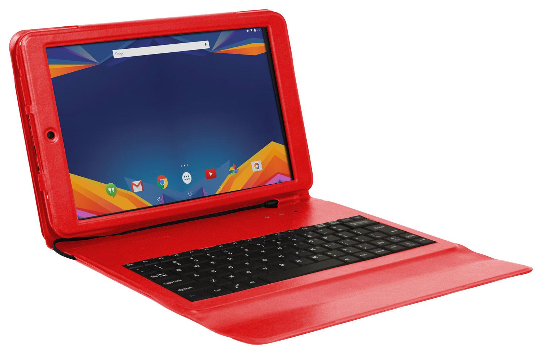 Visual Land - Prestige Prime 10ES - 10.1 - Tablet - 32GB - With Keyboard - Red
