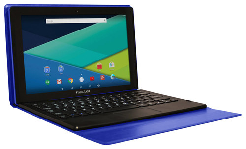 Visual Land - Prestige Elite 11Q - 11.6 - Tablet - 32GB - With Keyboard - Blue