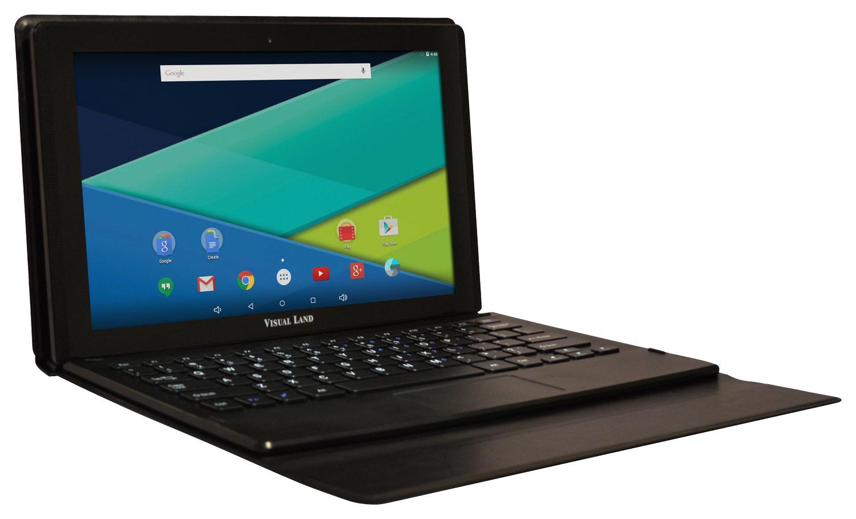 Visual Land - Prestige Elite 11Q - 11.6 - Tablet - 32GB - With Keyboard - Black