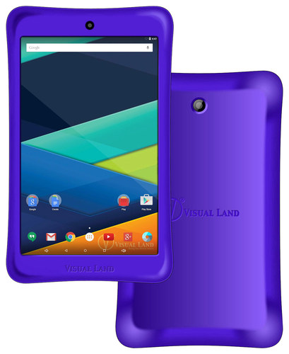 Visual Land - Prestige Elite 8QI - 8 Tablet - 16GB - Purple