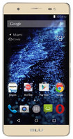 BLU - Energy X Plus 4G with 8GB Memory Cell Phone (Unlocked) - Gold