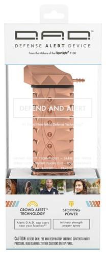 TigerLight - Defense Alert Device Non-Lethal Self-Defense Weapon - Rose Gold