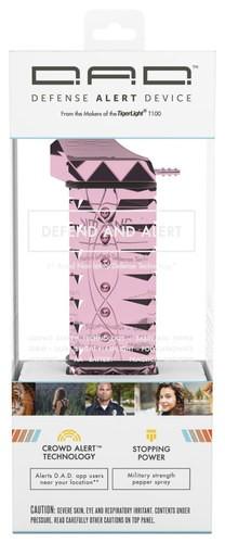 TigerLight - Defense Alert Device Non-Lethal Self-Defense Weapon - Metallic Pink