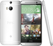 HTC - One (M8) 4G LTE Cell Phone with 32GB Memory - Glacial Silver (AT&T)