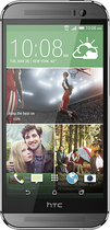 HTC - One (M8) 4G LTE Cell Phone with 32GB Memory - Gunmetal (AT&T)