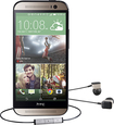 HTC - One (M8) Harman/Kardon Edition Cell Phone with 32GB Memory - Champagne/Black (Sprint)