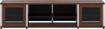"Salamander Designs - Synergy Quad A/V Cabinet for Flat-Panel TVs Up to 80"" - Walnut"