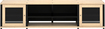 """Salamander Designs - Synergy Quad A/V Cabinet for Flat-Panel TVs Up to 80"""" - Maple"""