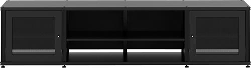 """Salamander Designs - Synergy Quad A/V Cabinet for Flat-Panel TVs Up to 80"""" - Black"""