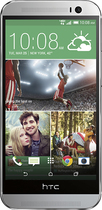HTC - One (M8) 4G LTE Cell Phone with 32GB Memory - Glacial Silver (Verizon Wireless)
