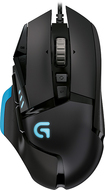 Logitech - G502 Proteus Core Optical Gaming Mouse - Black