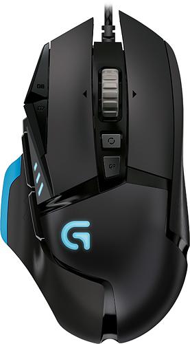 Logitech - G502 Proteus Core Optical Gaming Mouse - Black